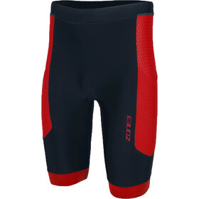 Zone3 Aquaflo Plus Pantaloncini Uomo, black/red